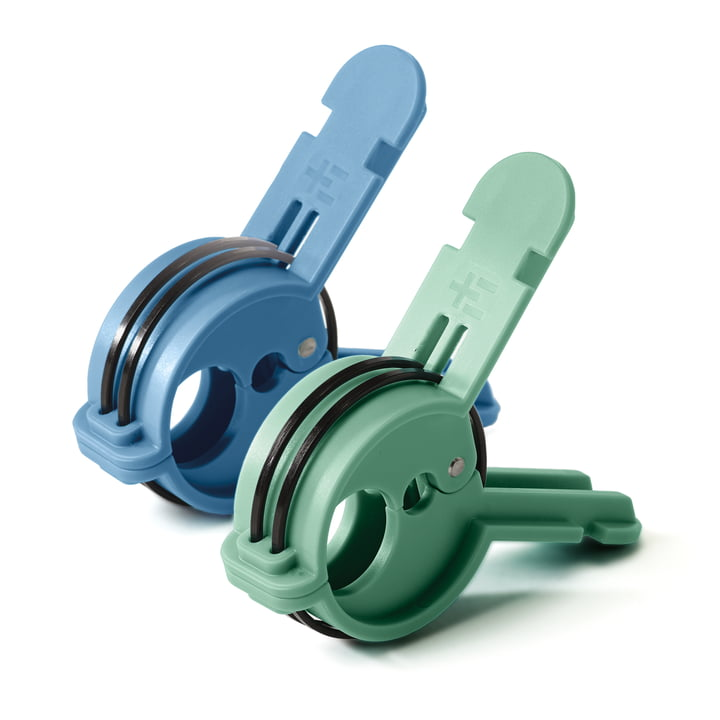 Rima Multiclip by Terra Nation in blue and green