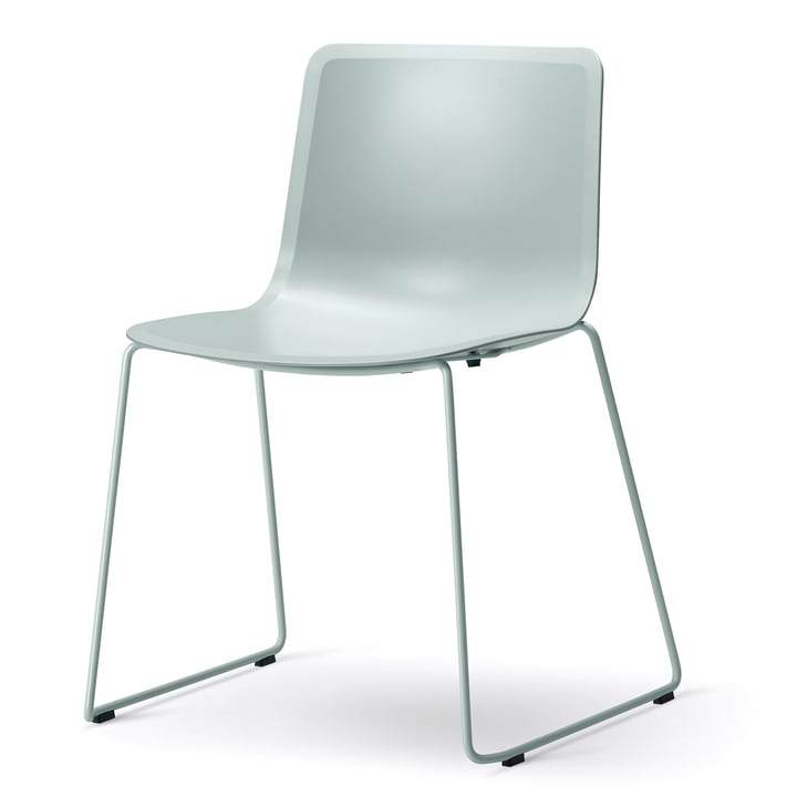Pato Sledge Chair by Fredericia in Ocean