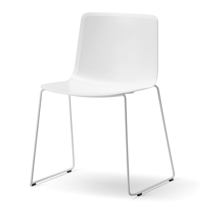 Pato Sledge Chair by Fredericia in White