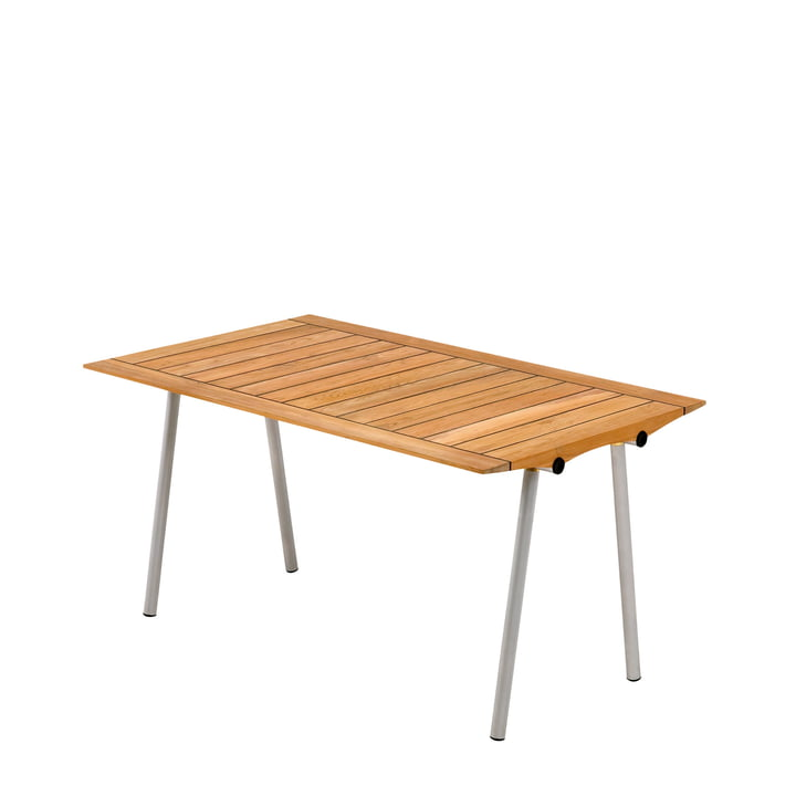 Skagerak - Ocean Table 142 cm, teak with rubber joint