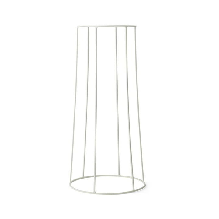 Menu - Wire Pot 606, white
