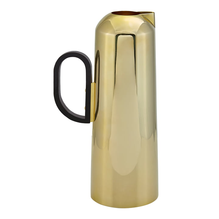 Form Jug by Tom Dixon made of brass