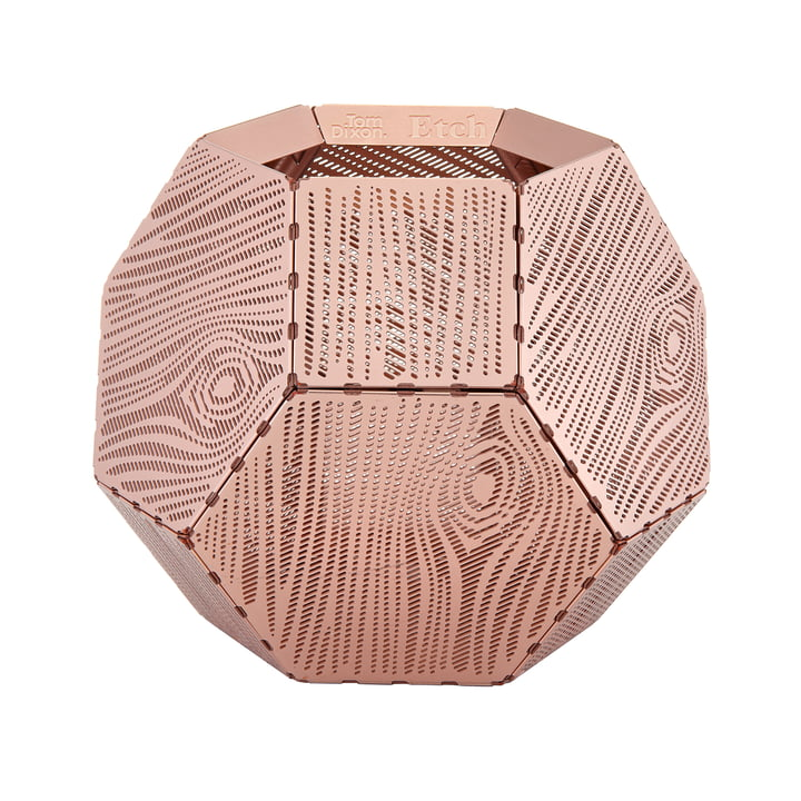 Etch Tealight Holder ETT03 by Tom Dixon made of copper