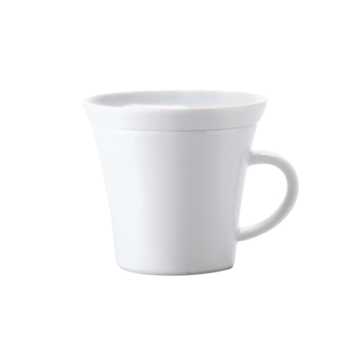 Kahla - Update, Cappuccino Mug with handle, 0.22 l, white