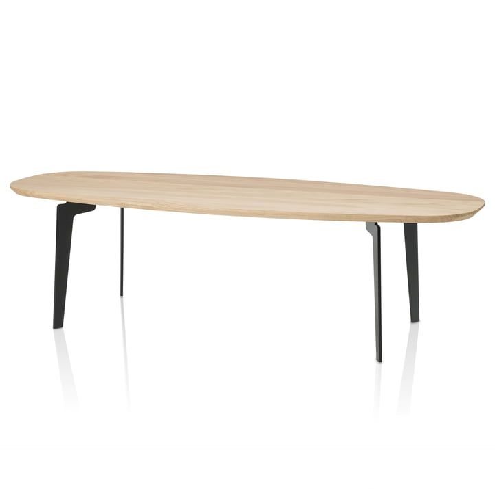 Join FH 61 Couch Table by Fritz Hansen made of natural oak