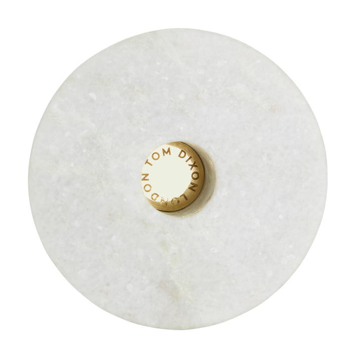 Stone Candle Holder Short by Tom Dixon