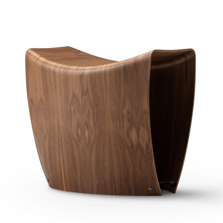 Gallery Stool by Fredericia in Walnut