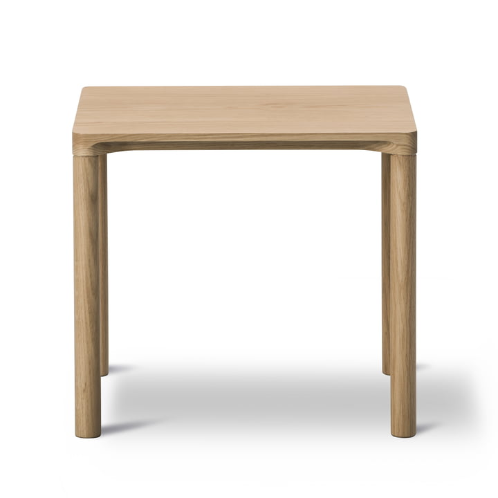 Piloti Coffee Table 31 x 39cm by Fredericia in Oak