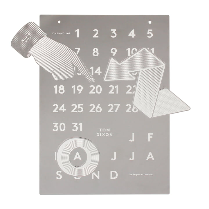 Tool Calendar by Tom Dixon in the shop