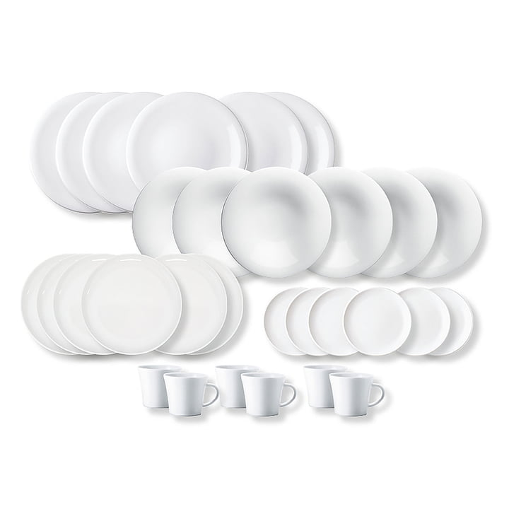 Kahla- Update, combo dishware 30pcs., white