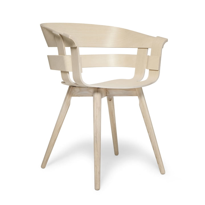 The Wick Chair Wood in natural ash by Design House Stockholm