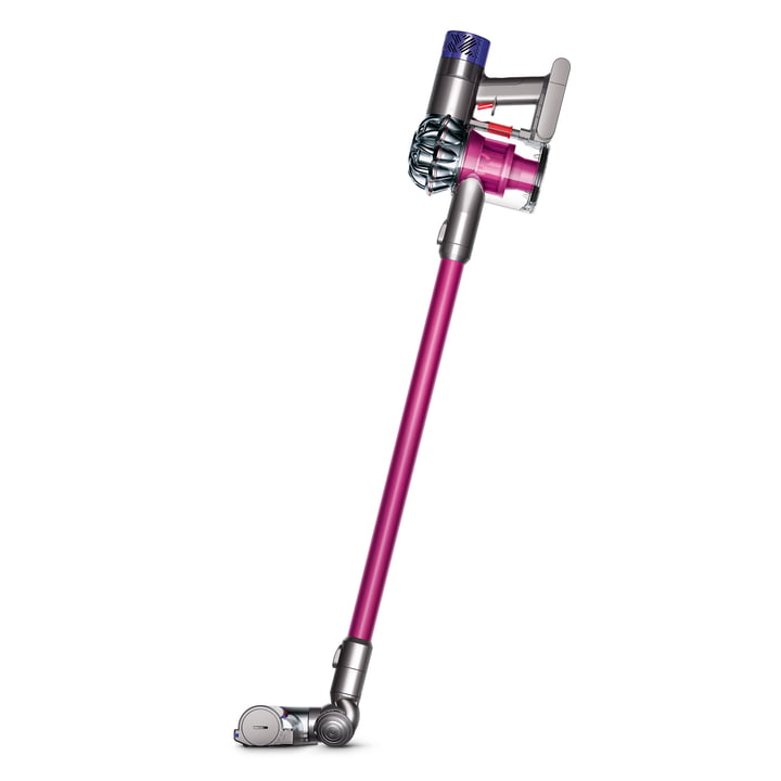 The Cordless Vacuum Cleaner V6 by Dyson in Pink / Nickel