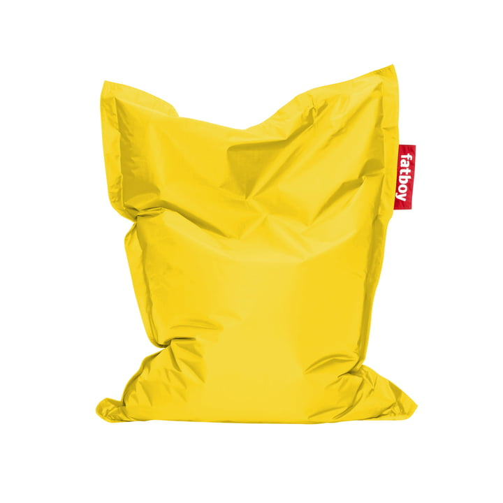 Junior beanbag by Fatboy in yellow