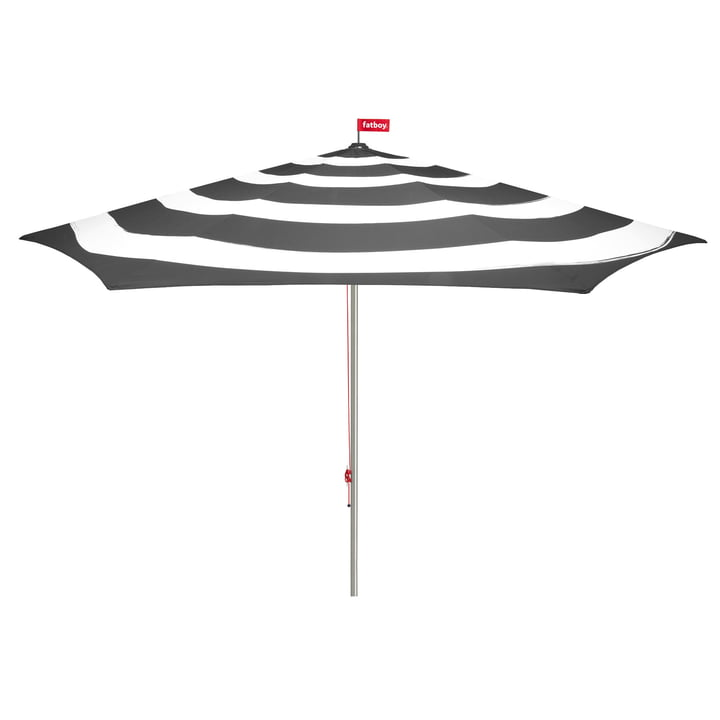 Stripesol Parasol from Fatboy in anthracite