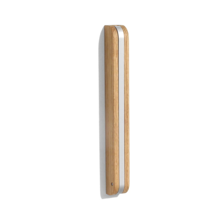side by side Wall Hook - oak wood