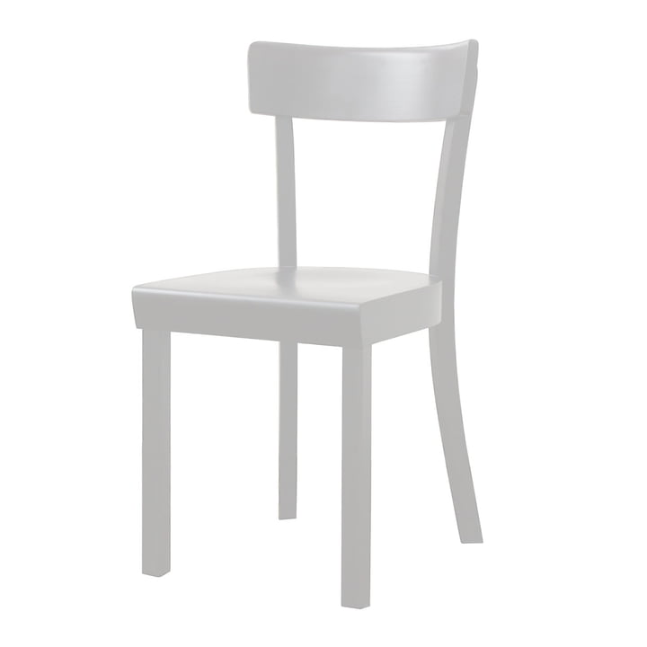 Stoelcker - Frankfurt Chair stained white, matte lacquered