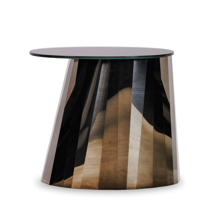 ClassiCon - Pli Side Table, pyrite bronze shiny