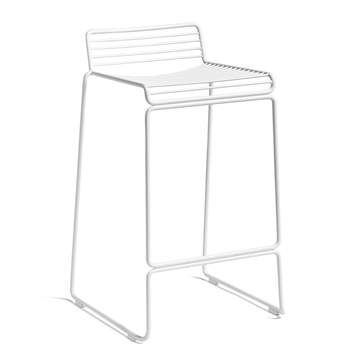 Hee Barstool low from Hay in white