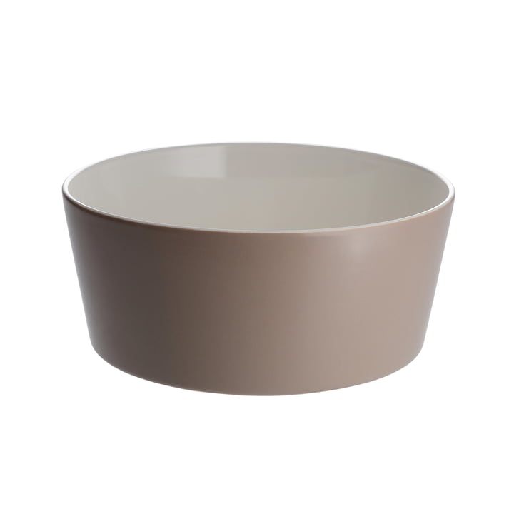 Alessi - Tonale Salad Bowl, red earth
