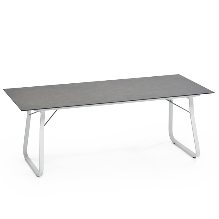 Ahoi Table 200 x 90cm by Weishäupl in grey