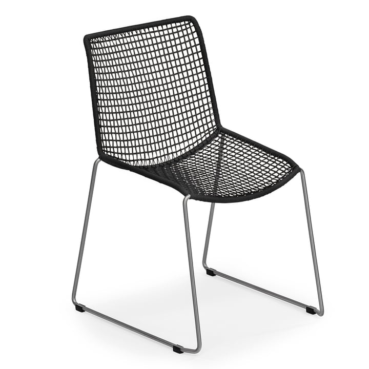 Slope Chair by Weishäupl in black