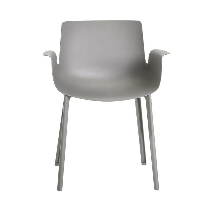 Piuma Chair by Kartell in Grey