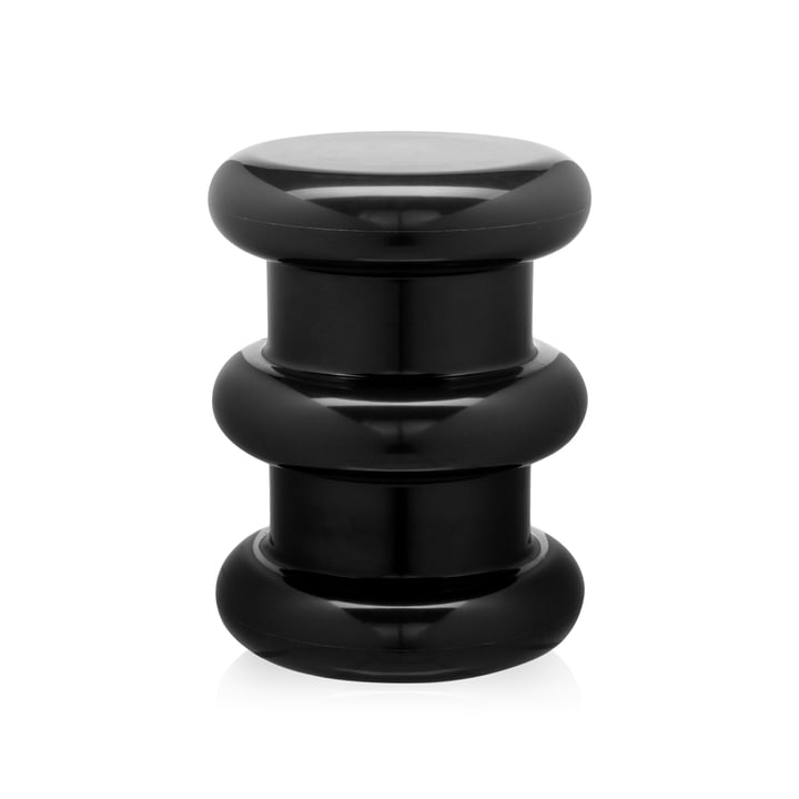 Pilastro Stool / Side Table by Kartell in Black