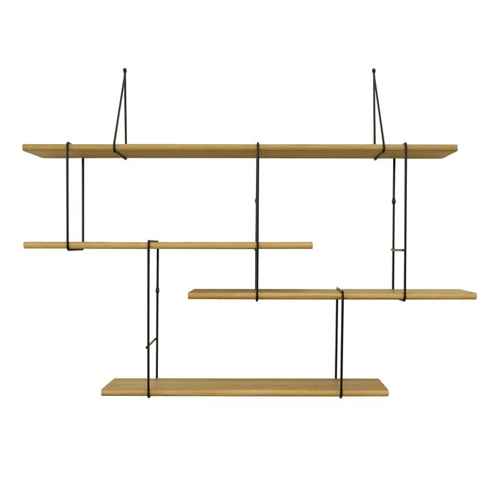 Link Shelf by Studio Hausen in Oak