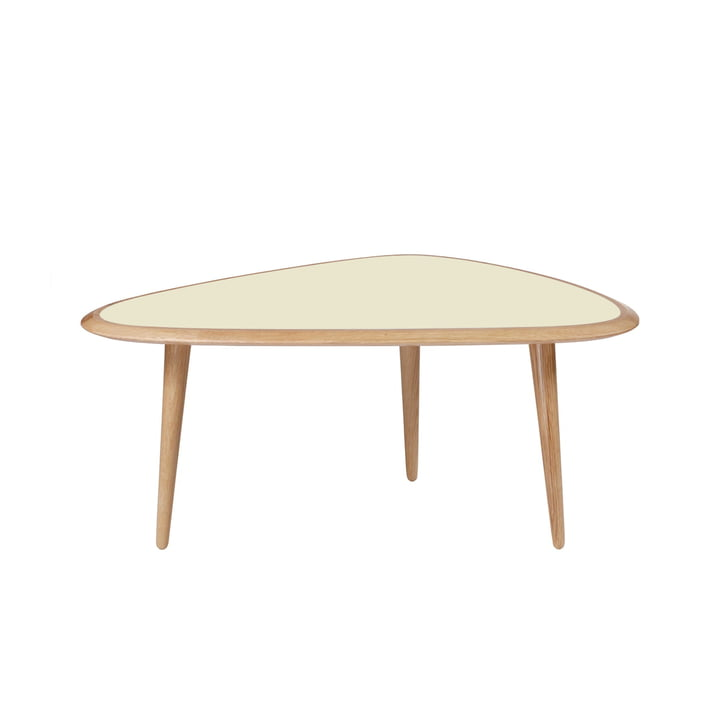 Fifties Side table by red edition in cream (L14)