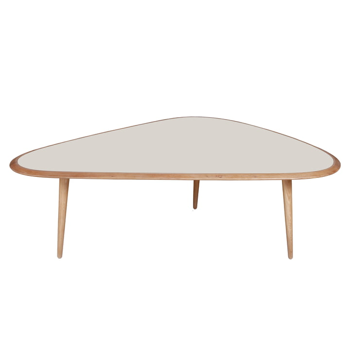 Large Fifties Coffee Table by red edition in cream (L14)