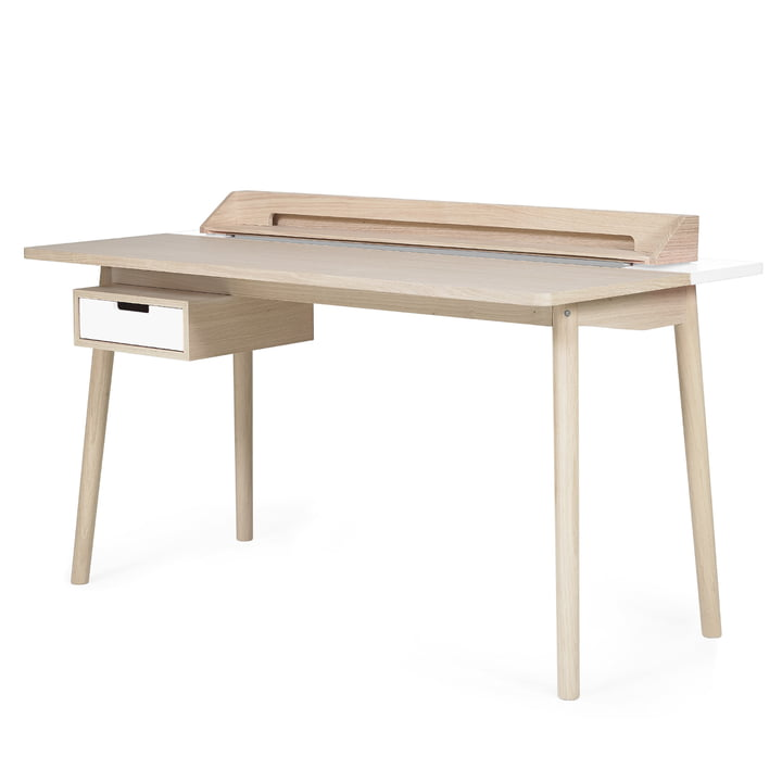 Honoré Desk by Hartô in white (RAL 9016)