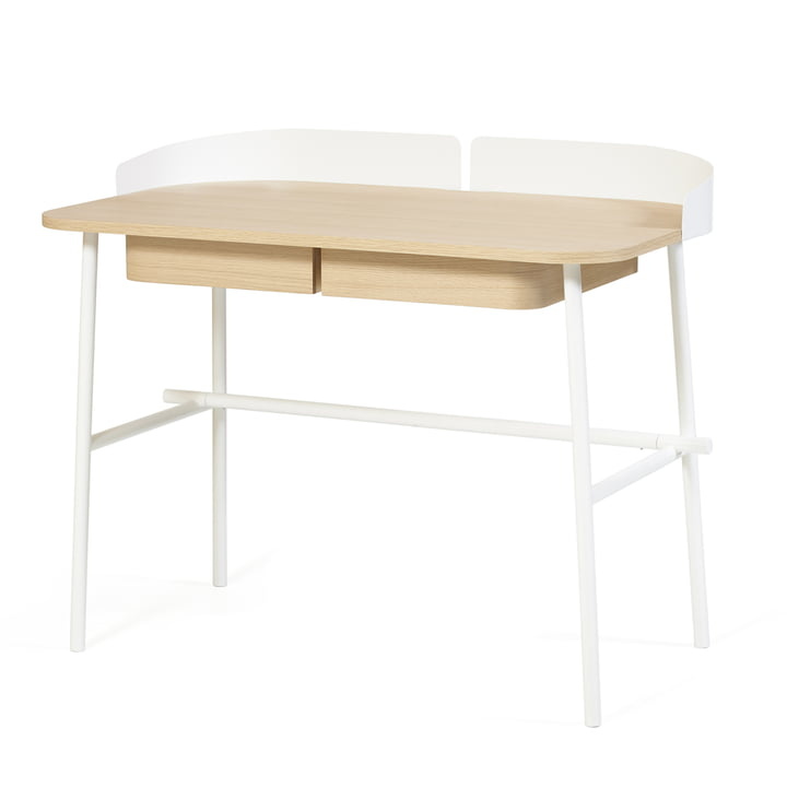 Victor Desk by Hartô in white (RAL 9016)