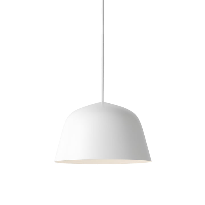 The Ambit Pendant Lamp Ø 25cm in white by Muuto