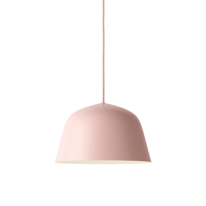 The Ambit Pendant Lamp Ø 25cm in rose by Muuto