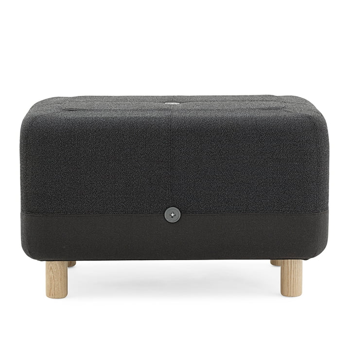 Normann Copenhagen - Sumo Pouf, dark grey