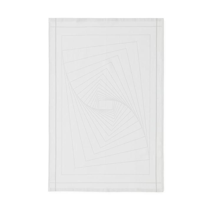 Normann Copenhagen - Illusion Tea Towels, white