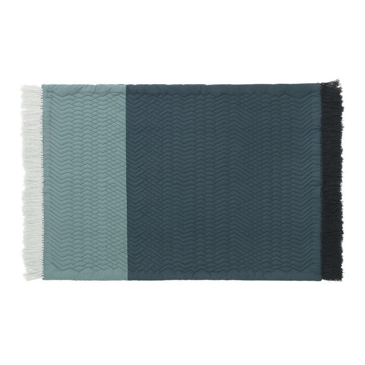 Normann Copenhagen - Trace Rug, blue