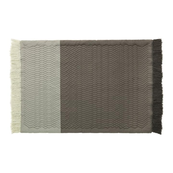 Trace Rug by Normann Copenhagen in grey