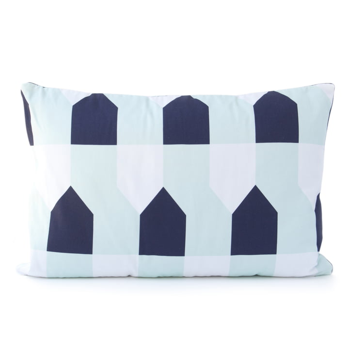 Grand Octave Cushion 60 x 40cm by Hartô in Blue