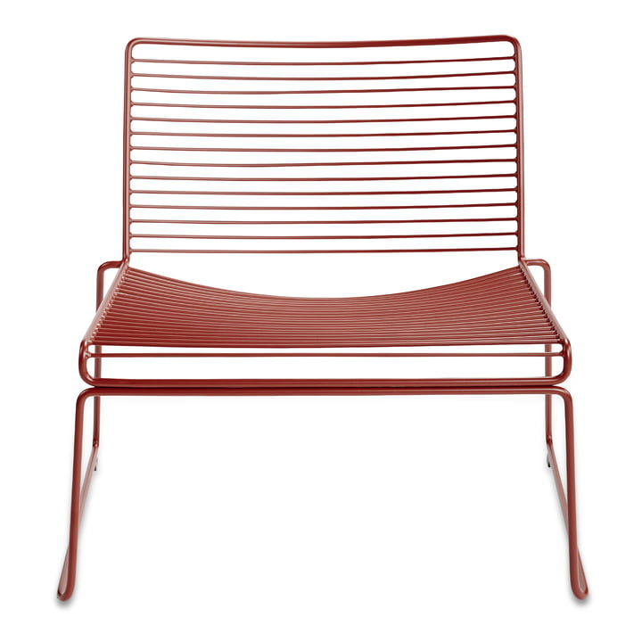 Hay - Hee Lounge Chair, rust
