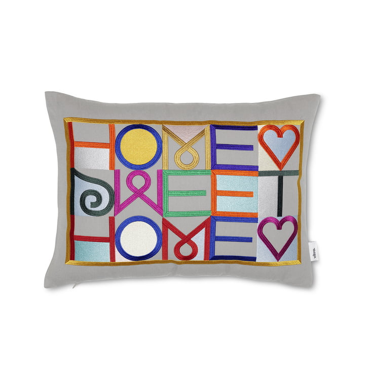 The embroidered cushion 30 x 40 cm from Vitra