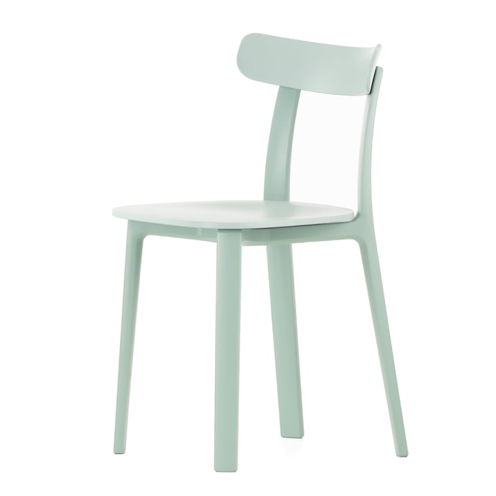 Vitra - All Plastic Chair, ice grey