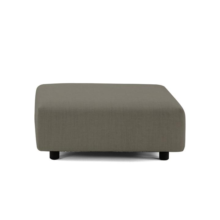 Soft Modular Sofa Ottoman from Vitra in warm grey (Laser 5)