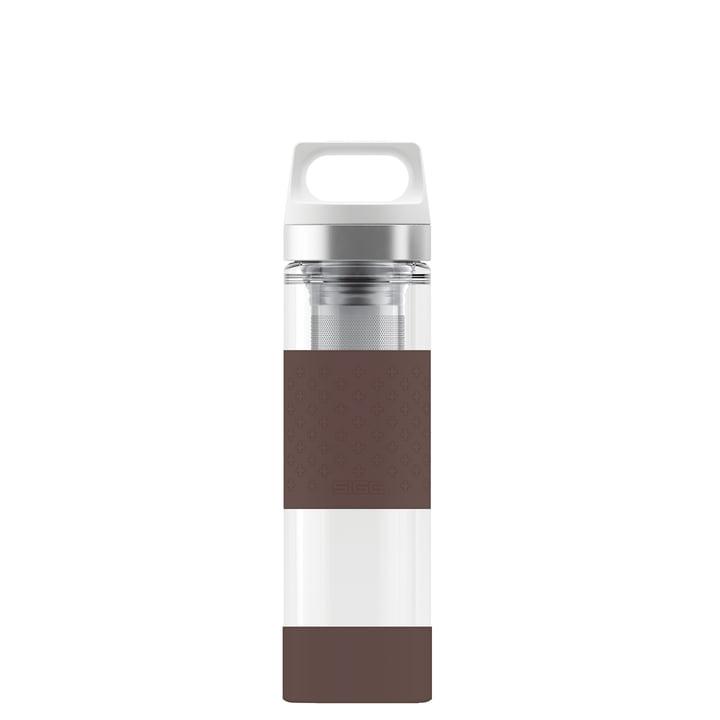 Sigg - Hot & Cold Glass WMB 0.4 l, chocolate