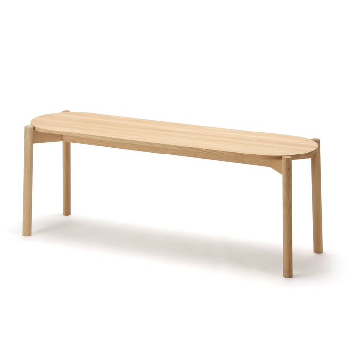 The Karimoku New Standard - Castor Dinning Bench in natural