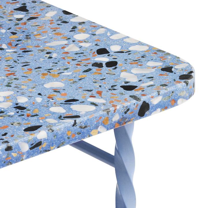 Terra Table from Normann Copenhagen in blue
