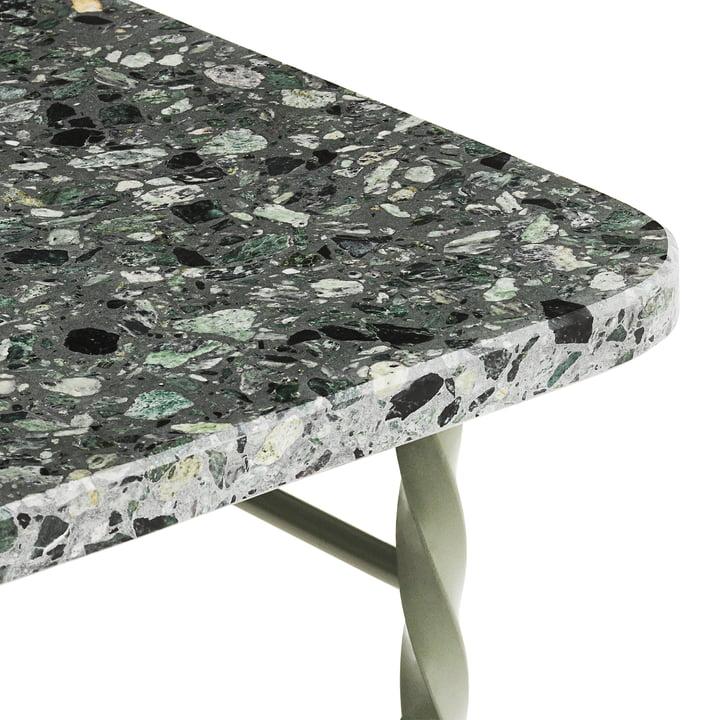 Terra Table from Normann Copenhagen in green