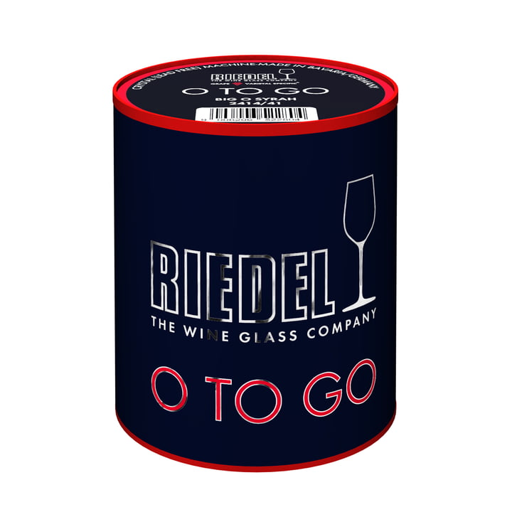 O wine O to go glass by Riedel