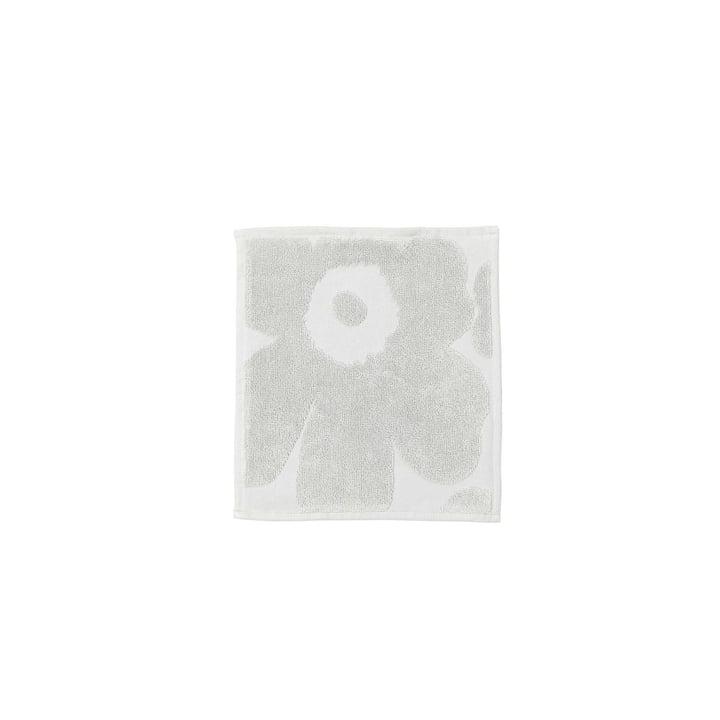 Marimekko - Unikko Solid Mini Towel 25 x 25cm, grey