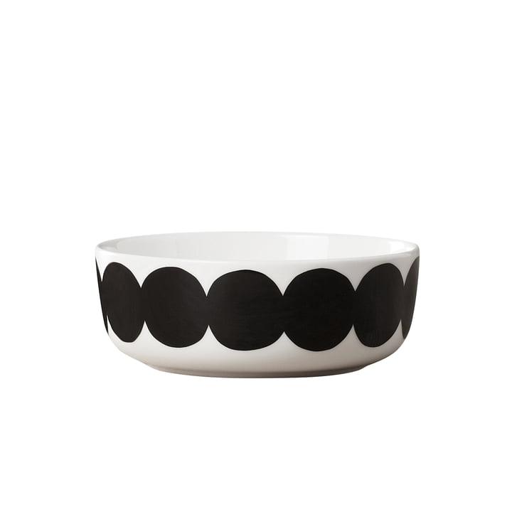 Oiva Räsymatto bowl 400 ml from Marimekko in white / black